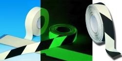 Protiskluzová páska fotoluminiscenční