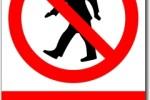 Vstup zakázán, nebezpečný prostor