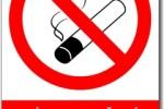 Zákaz kouření mimo vyhrazených prostor