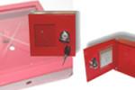 Požární krabička na klíč – kovová