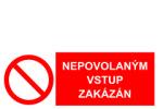 Kotelna nepovoleným vstup zakázán – na šířku