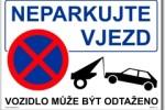 Neparkujte! Vjezd