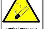 Kouření povoleno – kouření vážně škodí vám…