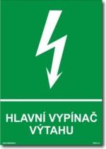 Hlavní vypínač výtahu