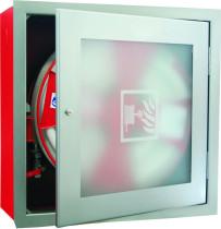 Hydrantový systém s tvarově stálou hadicí D25 30 m – sklo